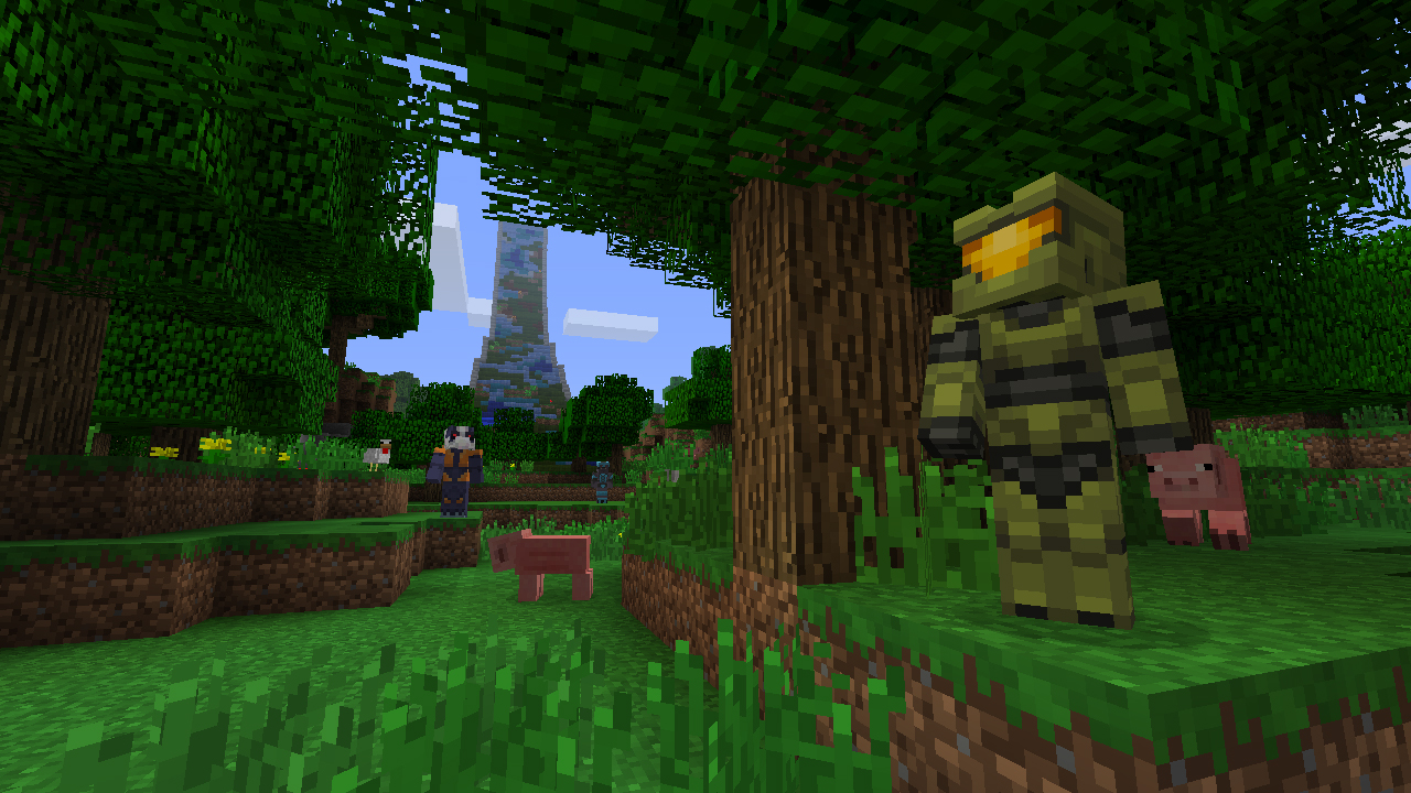 Master Chief Minecraft Skin Halo Base - Minecraft weltenbauer spielen