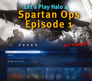 Let's Play Halo 4 Spartan Ops - alle Kapitel von Episode 1